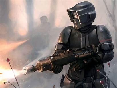 Wars Fi Sci Army Scout Trooper Cool