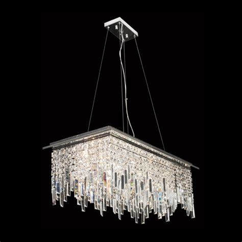 large rectangular k9 pendant k light import