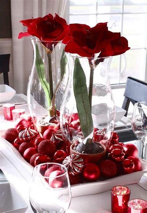 Weihnachtsdeko Für Den Tisch by Weihnachtsdeko In Rot F 252 R Eine Romantische Feststimmung