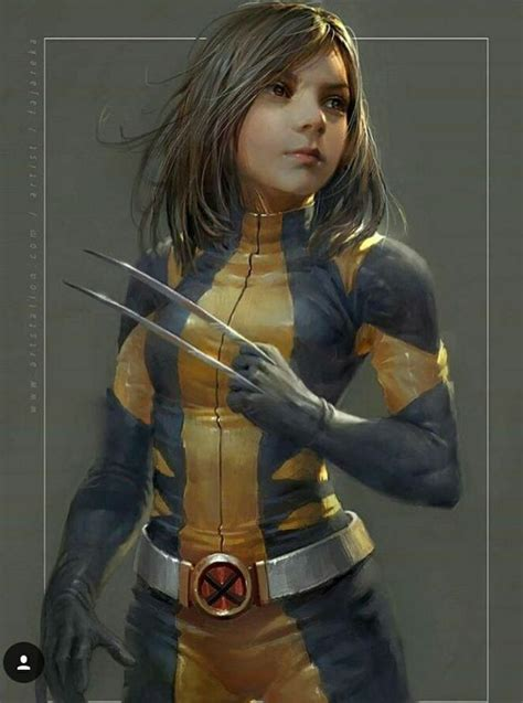 Laura X-23 from Logan in classic Wolverine costume | X-23 ...