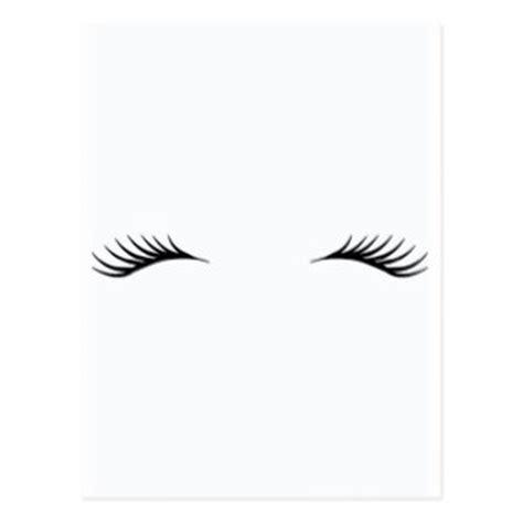 eyelash template eyelashes cards greeting photo cards zazzle