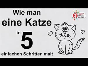 Wie Fange Ich Eine Katze : wie man eine katze in 5 einfachen schritten malt youtube ~ Markanthonyermac.com Haus und Dekorationen