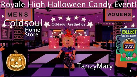 roblox gameplay royale high halloween event coldsoul