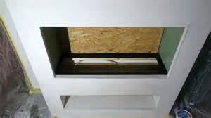 treppe granit elektrokamin selber bauen wasserdf feuer effekt aus einem elektrokamineinsatz
