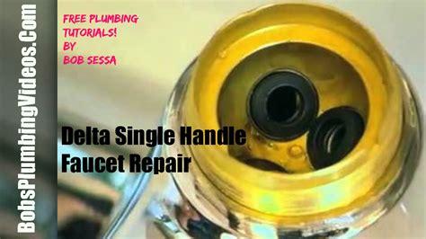 delta faucet repair  handle repair  handle faucet
