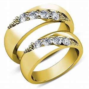 gold wedding rings for couples wedding promise diamond With wedding rings for couple