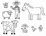 Farm Coloring Pages Activities Diy Had Crafts Macdonald Apge sketch template