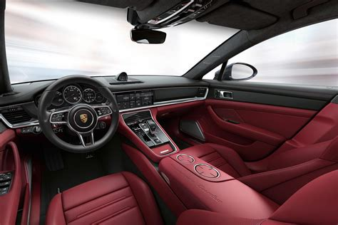 porsche panamera red interior arras red