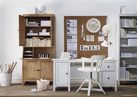 Arbeitszimmer Ikea Hemnes hemnes bureau wit gebeitst landelijk wonen hemnes