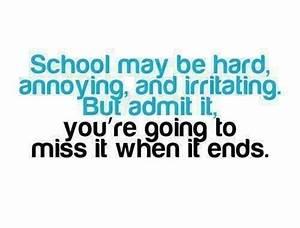 School Life Quotes | www.pixshark.com - Images Galleries ...