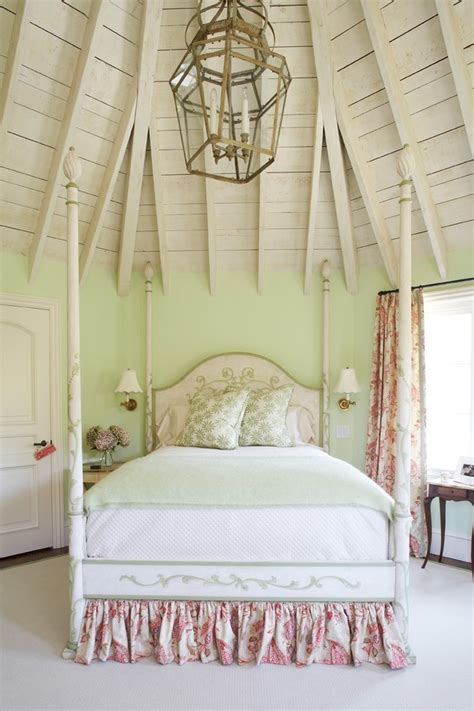 shabby chic four poster bed bed skirts bedroom shabby chic with four poster bed bedroom chandelier