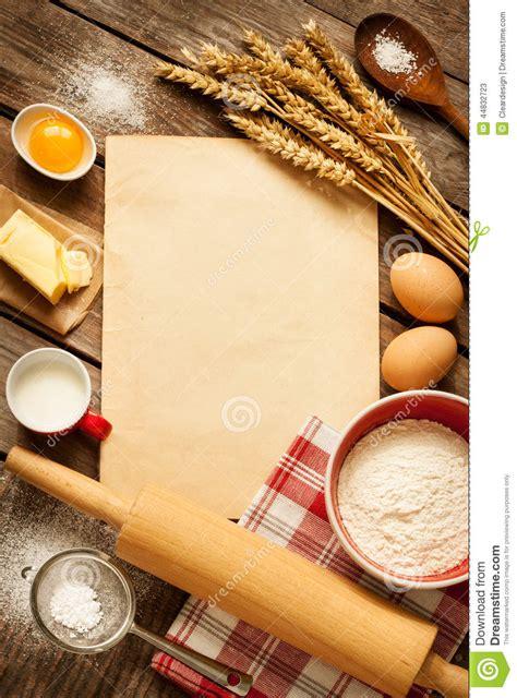 fond cuisine ingrédients ruraux de gâteau de cuisson de cuisine et