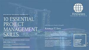 10 Essential Project Management Skills Training Course In Singapore
