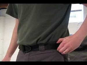 Uncle Mike's Reinforced Instructors Belt - YouTube
