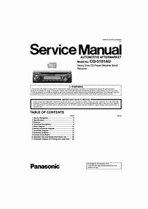 Panasonic Schematic Diagram Circuit