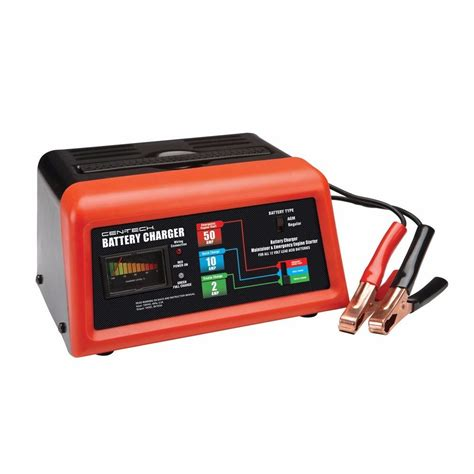 amp  battery charger jump engine starter cartruckriding mowerboat ebay