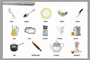 Kitchen Utensils Vocabulary List Pdf  kitchen utensils