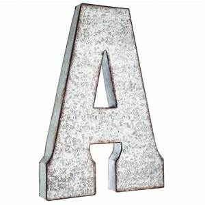 hobby lobby large galvanized metal letter miscellaneous With rustic metal letters hobby lobby