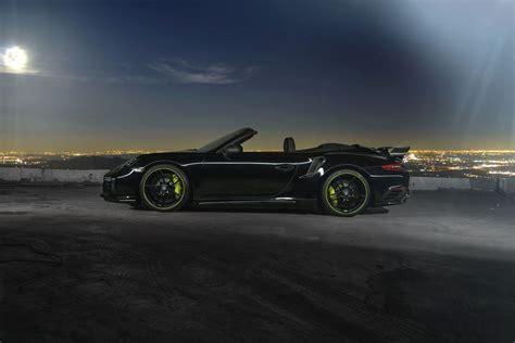 Techart Poprawia Porsche 9912 Turbo S Cabrio Tuning