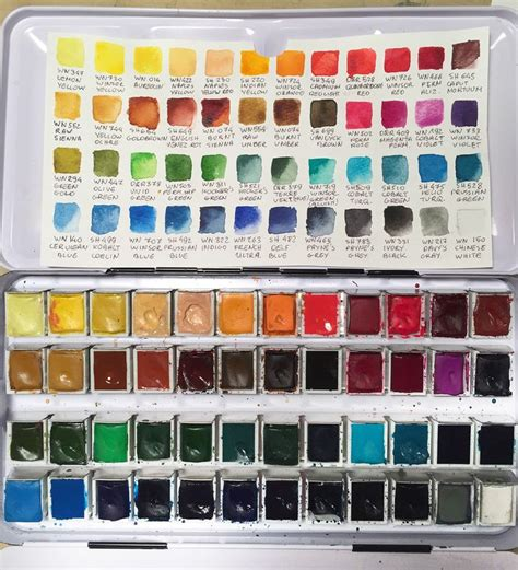 25 best ideas about watercolor paint set on