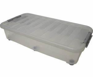 Plastikbox Mit Deckel Groß : heidrun unterbettbox 40 l 80 x 40 x 18 cm ab 12 79 preisvergleich bei ~ Markanthonyermac.com Haus und Dekorationen
