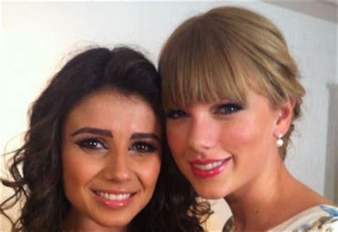 Paula Fernandes mostra encontro com Taylor Swift   OFuxico