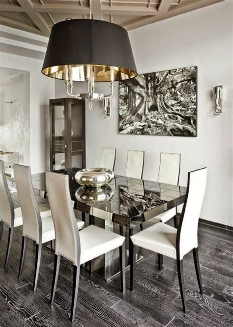 comedor elegante en color blanco diseno  decoracion