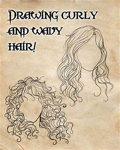 How I draw curly and wavy hair! by CristianaLeone on ...
