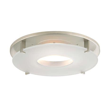 l ceiling plate decor satin nickel decorative recessed light cover plate trim