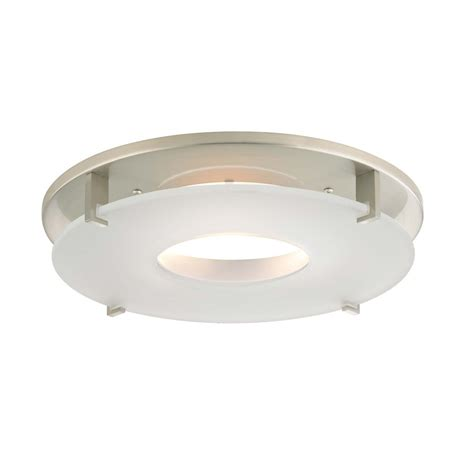 Satin Nickel Decorative Trim For 5 And 6 Inch Recessed