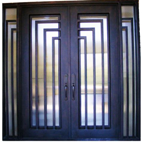 modern iron doors  york residential iron custom