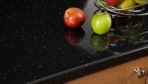 Black Sparkle Laminate Worktops, Black Gloss Work Surfaces