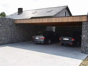 Garage Bauen Anleitung : carport selber bauen mehr als 70 ideen und ~ Michelbontemps.com Haus und Dekorationen