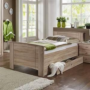 Einzelbett Mit Bettkasten : einzelbett edroms in eiche s gerau mit bettkasten ~ Indierocktalk.com Haus und Dekorationen