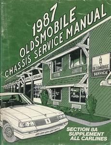 1987 Oldsmobile Cutlass Repair Shop Manual Supreme  Salon
