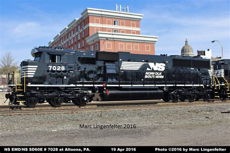 NS Diesel Locomotive Roster