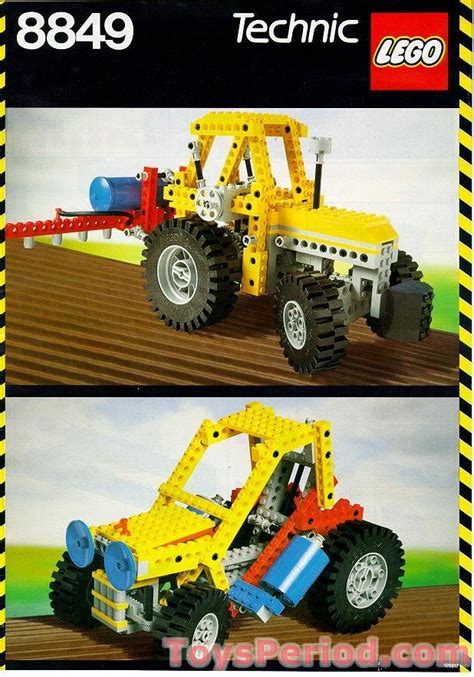 lego 8849 technic tractor instructions tracteur farm jeux construction pdf instruction