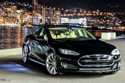 Limousine Tours Monaco Luxury Car Rental  Tesla Model S