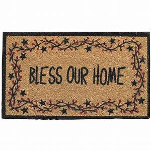 bless our home vine doormat the log furniture store With bless home furniture outlet