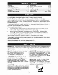 Page 2 Of Craftsman Lawn Mower 917 376390 User Guide
