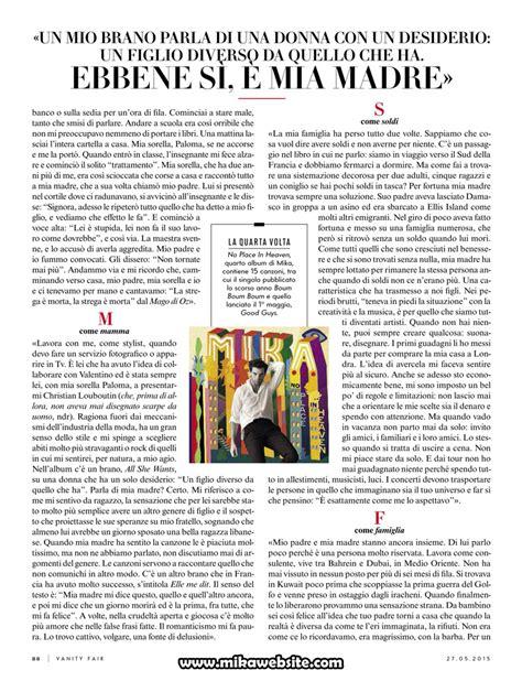Une Vanité by Fait La Une Du Magazine Quot Vanity Fair Italia Quot