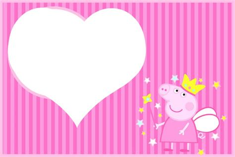 George Cornici Montage Photo Peppa Pig Princess Pixiz