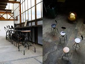 Meuble Bar Industriel : tabouret de bar industriel tabouret industriel table basse meuble metal industriel deco ~ Teatrodelosmanantiales.com Idées de Décoration