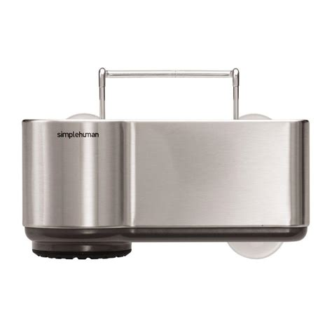 Simplehuman Sink Caddy Suction Cups by Sterilite Medium Ultra Basket 16249006 The Home Depot