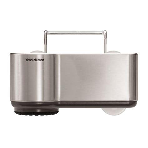 simplehuman sink caddy suction cups sterilite medium ultra basket 16249006 the home depot