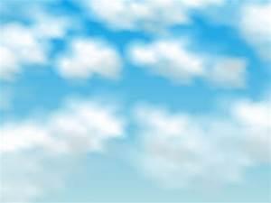 Blue Sky Nature Backgrounds Presnetation - PPT Backgrounds ...