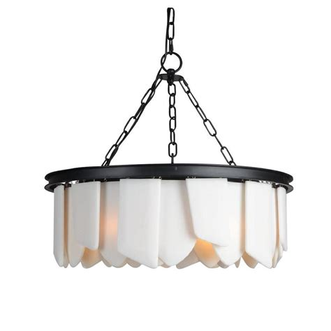 Black And White Chandelier Bedding by Y Decor 6 Light Black Chandelier Lz3395 6r The Home Depot