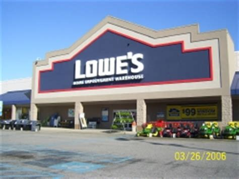 lowes mobile al hours lowe s home improvement in mobile al 36608 chamberofcommerce com
