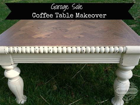 garage sale coffee table diy sunday showcase feb 28