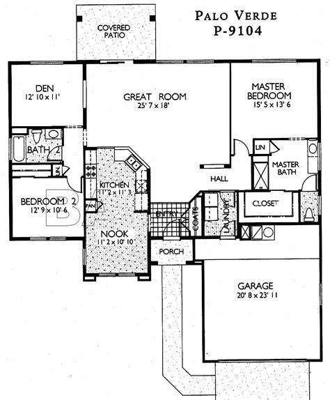 floor plans in sun city grand palo verde floor plan del webb sun city grand floor plan model home house plans